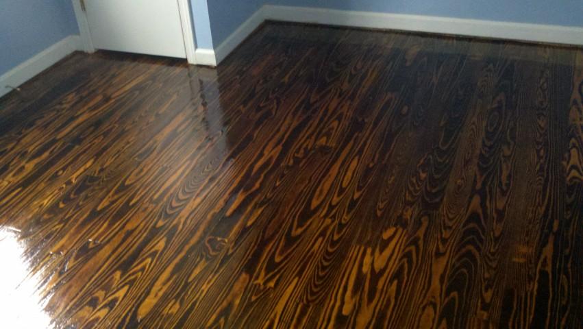 Hunstville hardwood floor refinishing done right.