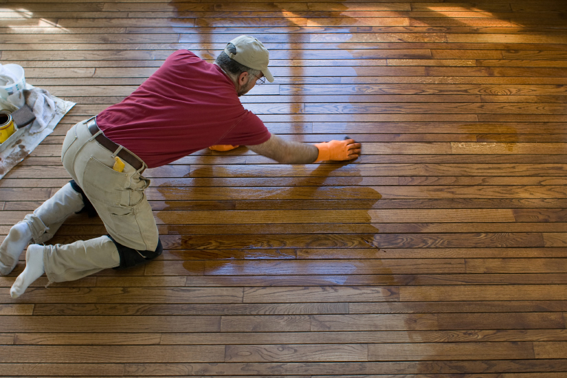 hardwood floor refinisher in Huntsville, AL