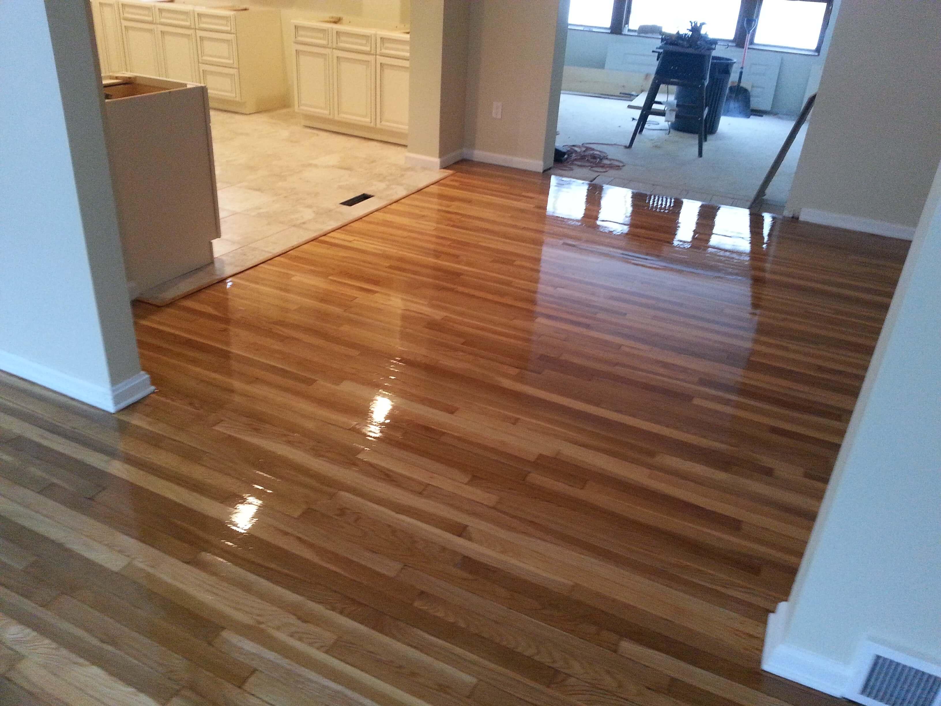 Hardwood floor resurfacing in Huntsville, AL