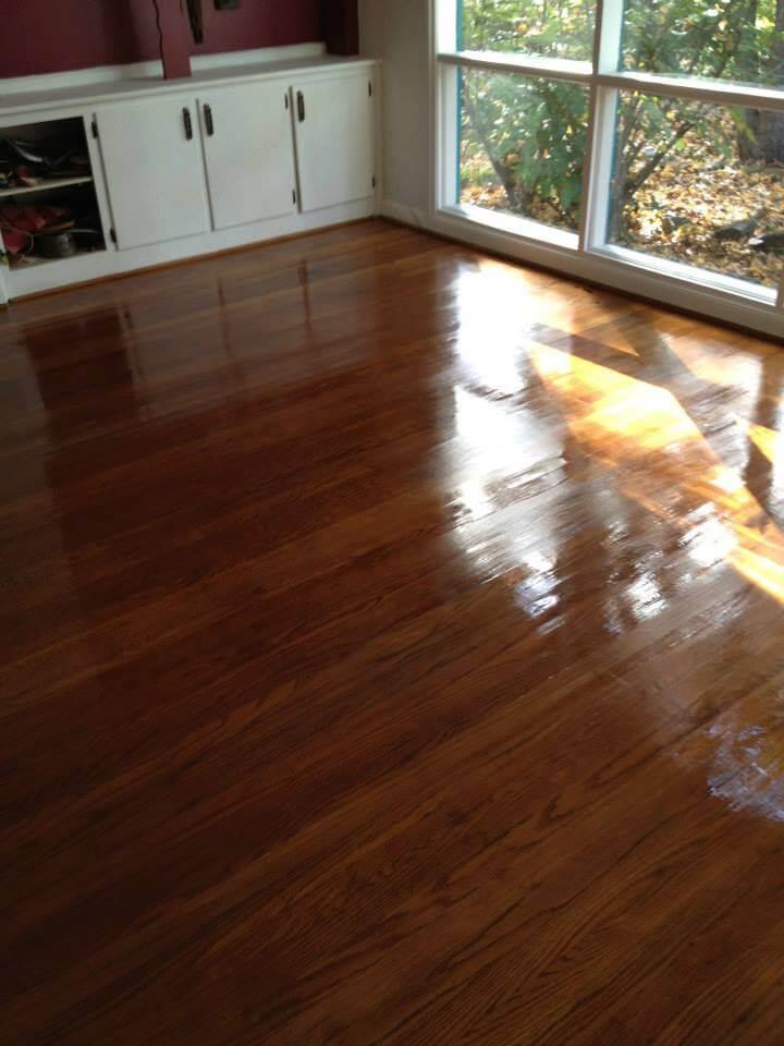 hardwood floor screen and coat in birmingham, AL