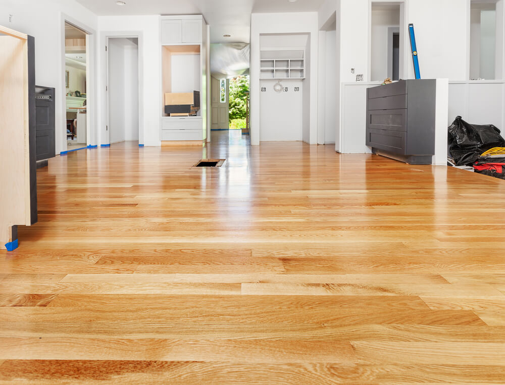 the Fabulous Floors hardwood floor refinishing process in Tuscaloosa