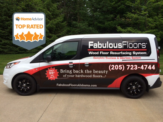 Fabulous Floors Alabama van