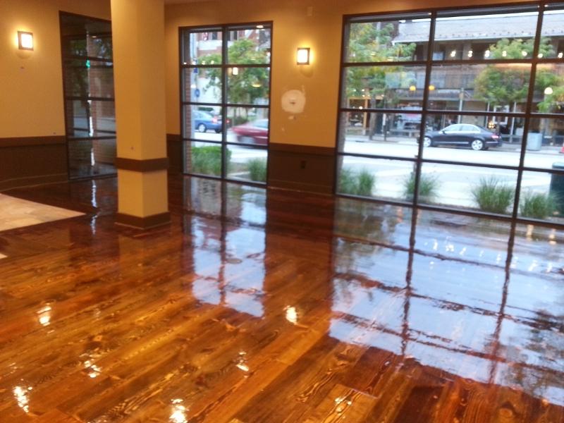 Hardwood floor refinishing in Huntsville, AL